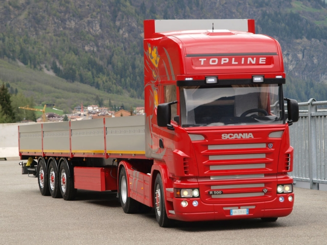 LASTWAGEN - SCANIA R500